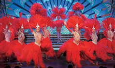 Champagne and Show at Moulin Rouge