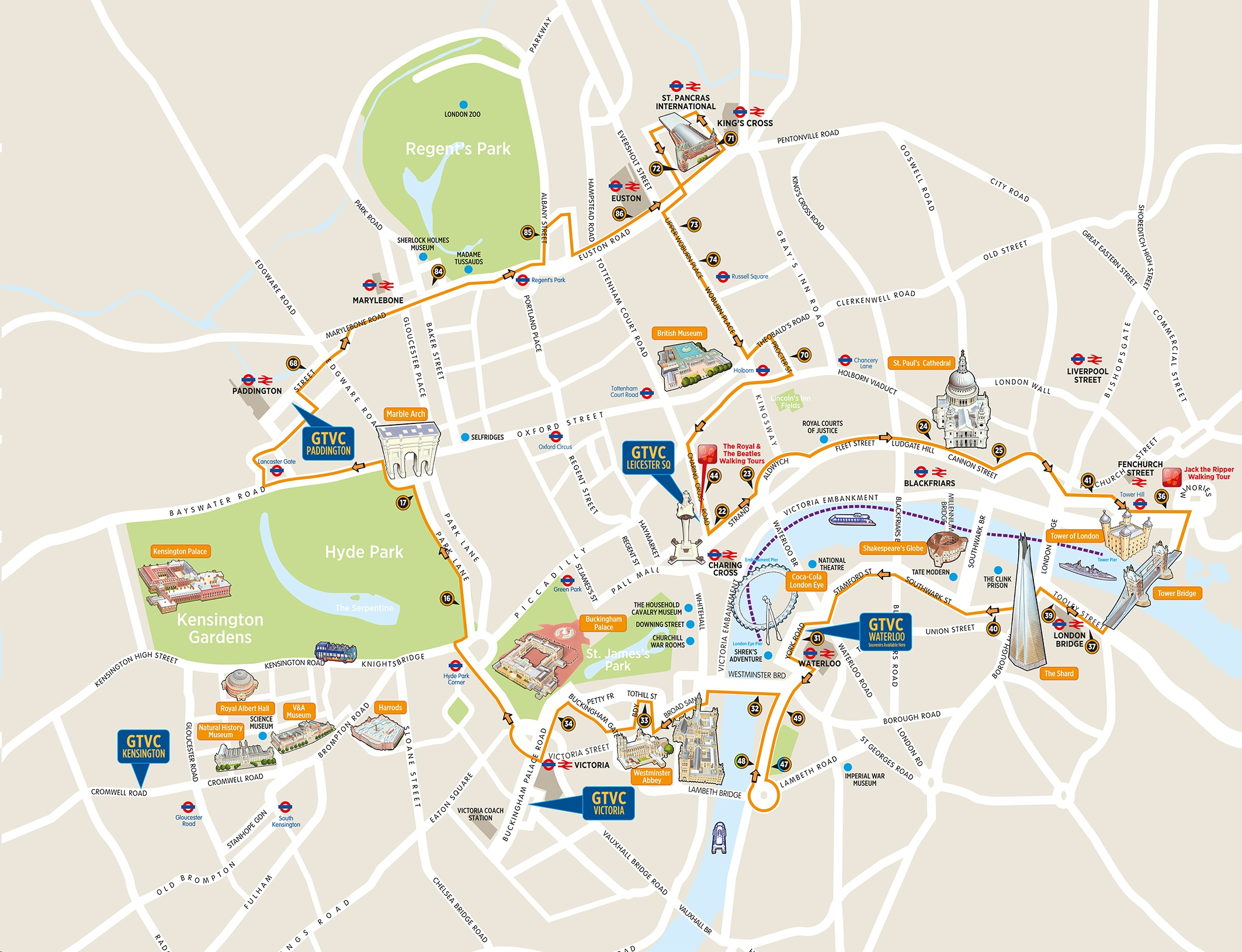 Toutes & Map