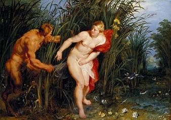 Pan and Syrinx, 1617