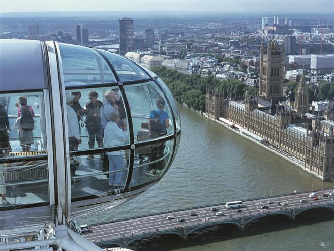 London Sightseeing on Hop On Hop Off Bus & London Eye Tickets