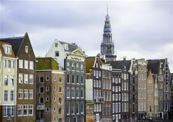 Amsterdam Guided City Tour with 1-Hour Canal Cruise