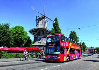 Amsterdam Hop On Hop Off 24 Hours - Bus and Boat