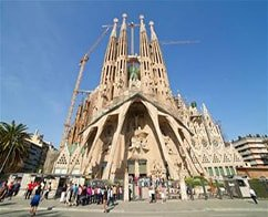 Half Day Escorted tour of Barcelona Highlights