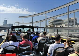 Barcelona Hop on Hop off Bus Tour - 2 Day Pass with Boat Ride