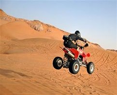 Dune Buggy or Quad Bike Ride in Addition with Desert Safari