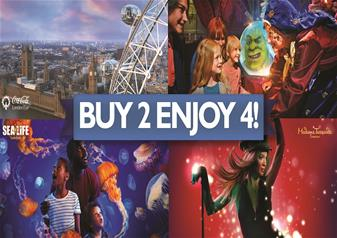 London's Big Attraction Ticket - 4 Attractions