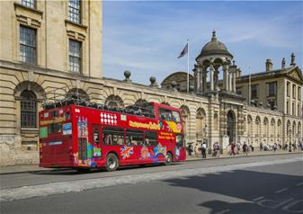 Oxford Hop-on Hop-off Bus Tour - 48 Hours Ticket
