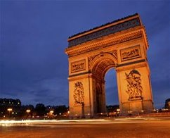 Paris by Night City Tour by Open Top bus
