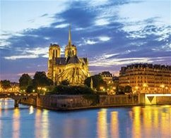 Dinner at the Eiffel Tower, Seine Cruise & Moulin Rouge Show