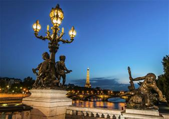 Paris by Night, Seine Cruise and Guided City Tour