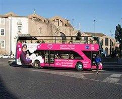 Rome Hop on Hop off - 24 Hours Ticket