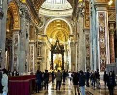Priority early entrance: Sistine Chapel and St. Peter's Basilica