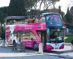 Rome Open Top Bus Tour - Single Ride