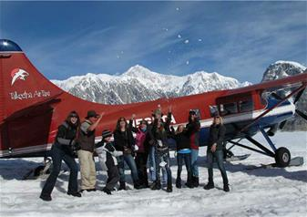 Flightseeing Tour of Grand Denali with Glacier Landing from Talkeetna Airport