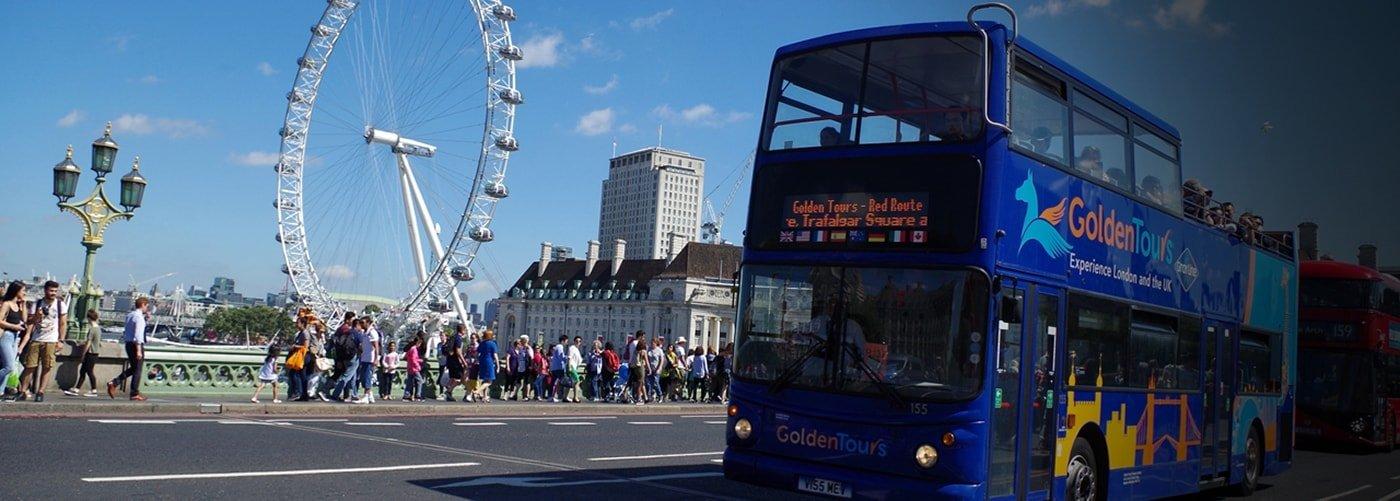 Hop on Hop off London Bus Tours