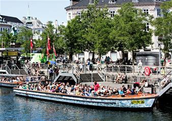 Grand Tour of Copenhagen from Nyhavn or Gammel Strand
