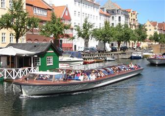 Grand Canal Tour of Copenhagen with Skip-the-Line Entry to Tivoli Gardens