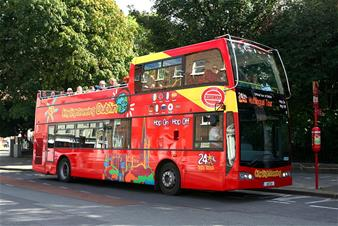 Dublin Hop-on Hop-off Bus Tour - 24 Hours