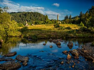 Half-Day Tour to Glendalough and Powerscourt Gardens