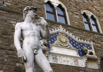 Florence in a day: David, Walking Tour and Uffizi Gallery