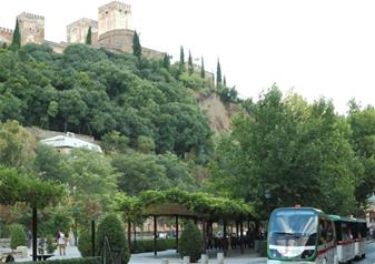 1-Day Hop-On Hop-Off Train Tour of Granada City