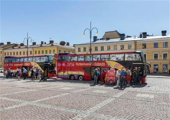 Hop-on Hop-off Helsinki Open Top Bus Tour-24 Hours Ticket