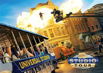 Full-Day Celebrity Homes and Universal Studios Tour Hollywood