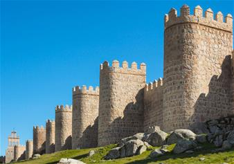Full day tour of Avila & Segovia from Madrid