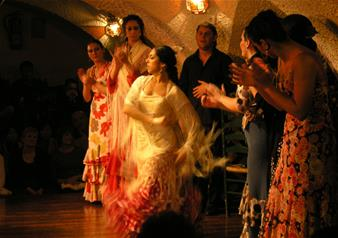 "Flamenco Show with Dinner at ""Cafe' de Chinitas"" in Madrid"