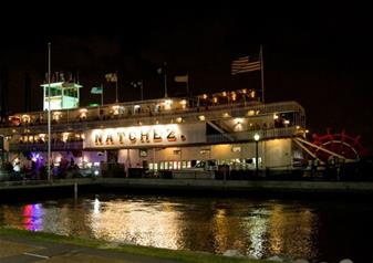 Evening Jazz Sightseeing Cruise in New Orleans with Dinner