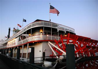 Mardi Gras Jazz Sightseeing Cruise in New Orleans with Brunch