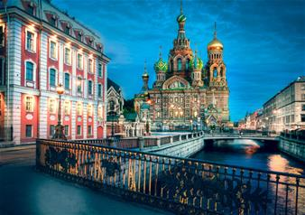 Full Day City Sightseeing Tour of St. Petersburg and Hermitage Museum