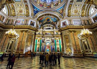 Private Tour of Saint Isaac's Cathedral with Priority Access