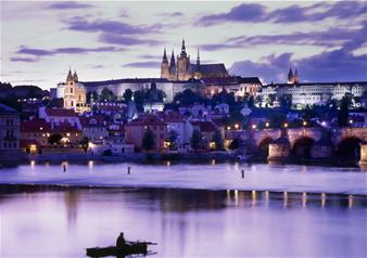 Evening Prague Cruise on Vltava River with Dinner