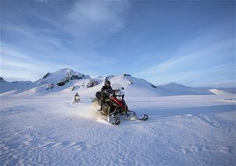 Golden Circle and Langjokull Snowmobiling Tour from Reykjavik