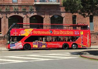 San Francisco Hop-on Hop-off Bus Tour 2 Day Ticket