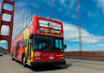 Sausalito and Golden Gate Bridge tour with Hop-on Hop-off Bus