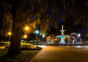 Secrets in the Night Illumination Tour of Savannah