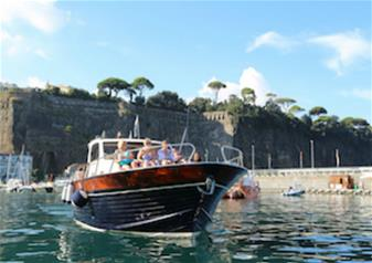 Boat Tour of Sorrento and Capri from Sorrento