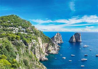 Day Tour of Pompeii and Capri by Boat from Sorrento