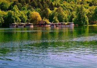 National Park Plitvice Lakes from Split