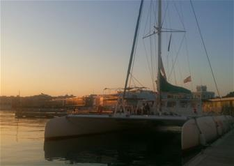 Sunset Cruise and Dinner at the Beach in Valencia