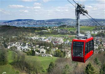 Zurich City Tour including Felsenegg Cable Car Ride