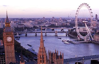 Excursion            de Londres