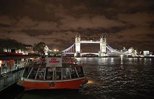 Bootsfahrten            auf der Themse