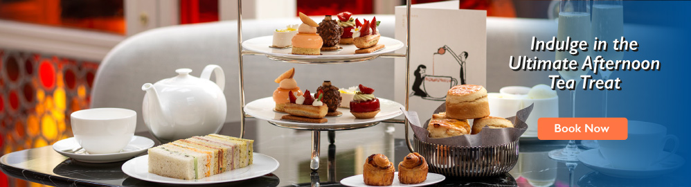 Scrumptious English Tradition with Cakes, Tea and Pastries