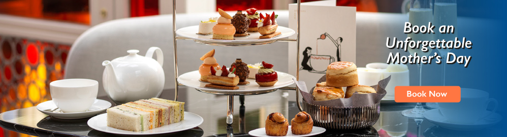 Treat your Mother to a Thames Cruise, the View from the Shard, Afternoon Tea or much more