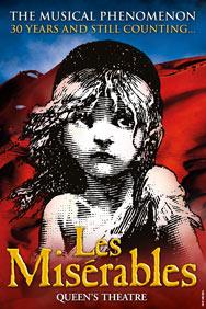 London Theatre Tickets - Les Miserables