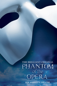 London Theatre Tickets - The Phantom of the Opera