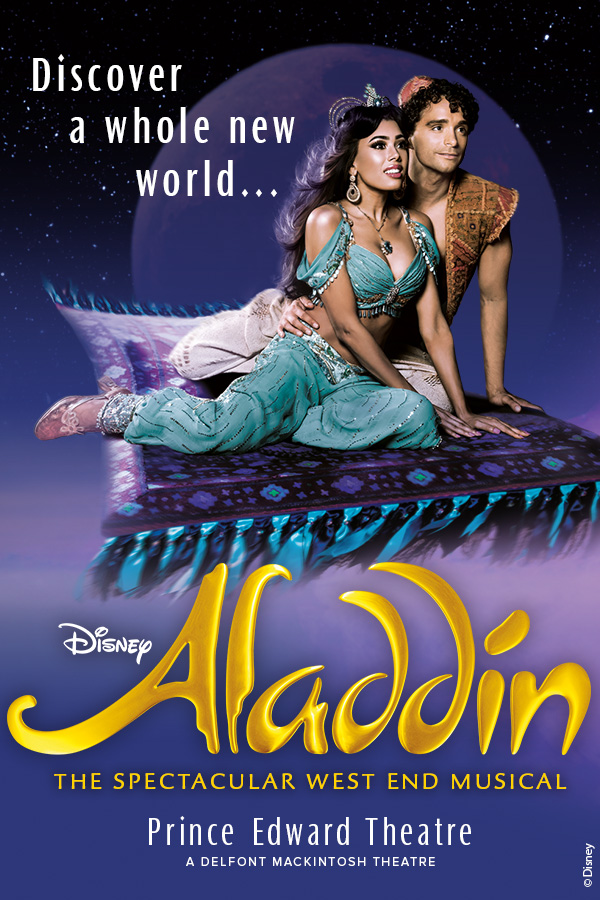 London Theatre Tickets - Disney's Aladdin